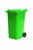 Empty recycling bin Royalty Free Stock Image