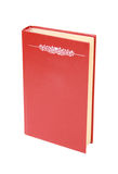 Empty red book Royalty Free Stock Image