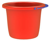 Empty red bucket . Stock Image