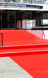 Empty red carpet Stock Image