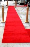Empty red carpet Stock Photos