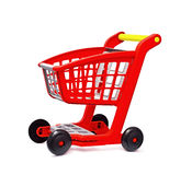 Red cart Royalty Free Stock Photos