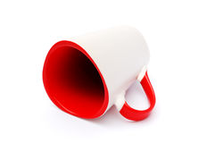 Empty red cup Stock Image