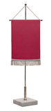 Empty red pennant. Stock Photography
