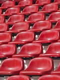 Empty red seats Stock Image