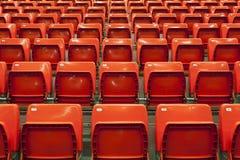 Empty red seats Stock Photos