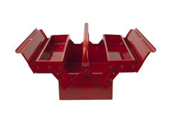 Empty Red Toolbox Stock Image