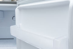 Empty refrigerator freezer Royalty Free Stock Image