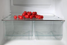 Empty refrigerator Royalty Free Stock Image