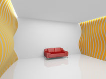 Empty relaxation room Royalty Free Stock Image
