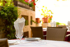 Empty restaurant Stock Image