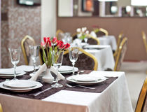 Empty Restaurant Royalty Free Stock Photography