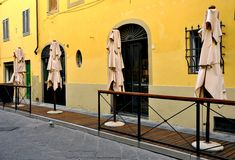 Free Empty Restaurant In Italy  Royalty Free Stock Photography - 15906247