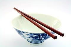 Empty rice bowl Royalty Free Stock Photo