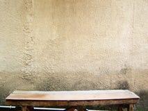 Empty rickety bench Stock Image