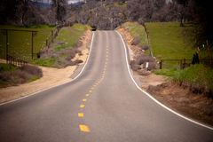 Empty road Royalty Free Stock Photography