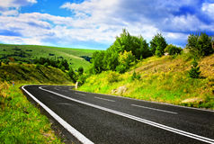 Empty road Royalty Free Stock Photos