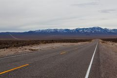 Empty road Royalty Free Stock Photos
