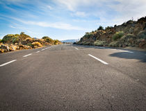 Empty Road Stock Image