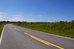 Empty road Stock Image