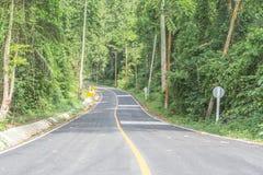 Empty road. Royalty Free Stock Photo
