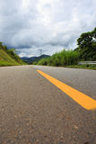 Empty road at Brazil Royalty Free Stock Photo