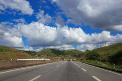 Empty road at Brazil Royalty Free Stock Photography