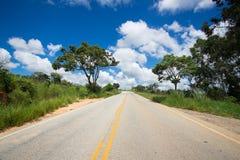 Empty road at Brazil Stock Photos