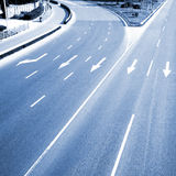 Empty road Royalty Free Stock Images