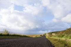 Empty road in countryside Stock Photography