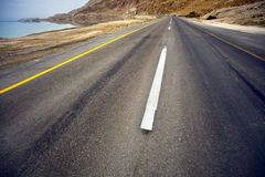 Desert Asphalt Road Royalty Free Stock Photo