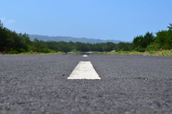 The Empty Road Royalty Free Stock Image