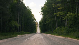 Empty road Stock Images