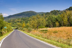 Empty road in mountains Royalty Free Stock Image