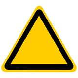 Empty road sign Royalty Free Stock Photos