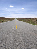 Empty road to nowhere Royalty Free Stock Photo