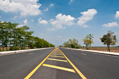 Empty road Royalty Free Stock Photo