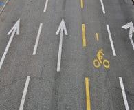 Empty road way Royalty Free Stock Photography