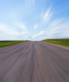 Empty Road With Blue Sky Stock Image