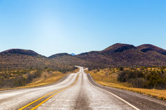 Empty roadway Royalty Free Stock Photography