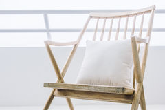 Empty rocking chair Royalty Free Stock Photo