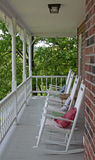 Empty Rocking Chairs Royalty Free Stock Image