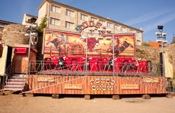 Empty Rodeo rides Royalty Free Stock Images