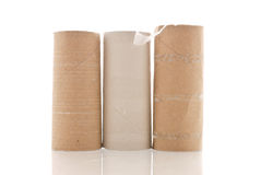 Empty Rolls Royalty Free Stock Photo