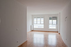 Empty room. In a new house Royalty Free Stock Image