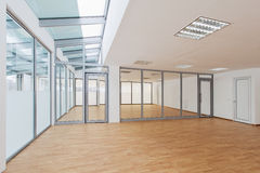 Empty room. Empty office room with daylight royalty free stock photos
