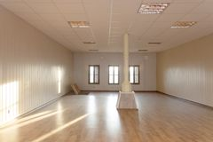 Empty room. Oldest empty room for gallery royalty free stock photo