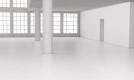 Empty room Stock Images