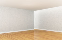 Empty room. With wooden floor Royalty Free Stock Photography