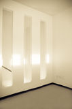 Empty room. Fragment of the empty room interior after renovation Stock Photos